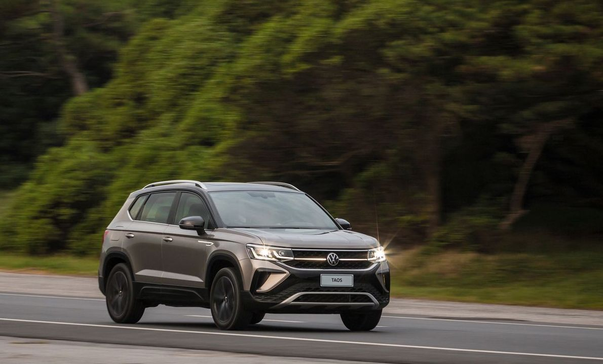 Lançamento: SUV médio VW Taos
