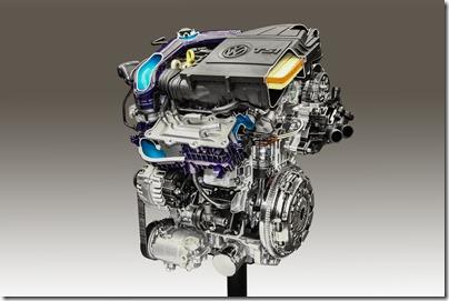 motor 1.0 TSI Total Flex 2