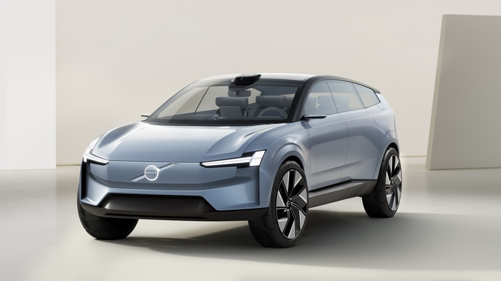 Volvo Cars mostra carro conceito elétrico